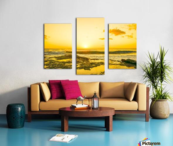 Golden Moment - Sunset Hawaiian Islands Canvas print