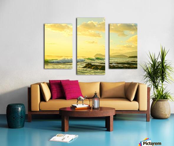 Perfect Day - Sunset Hawaiian Islands Canvas print