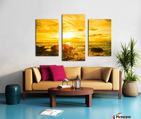 Majestic Sunset - Hawaiian Islands Canvas print