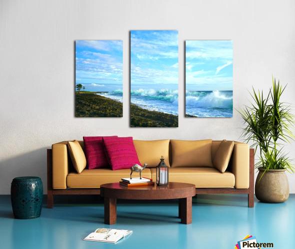 Blue Day - Hawaiian Islands Canvas print