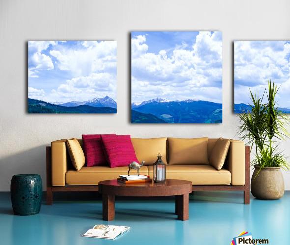 The Sawatch Range Colorado Canvas print