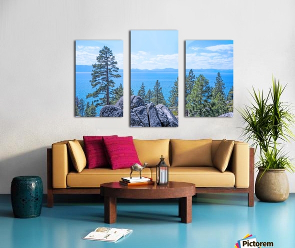 To the Horizon Canvas print
