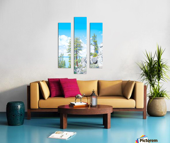 Top of the Mountain California  Canvas print