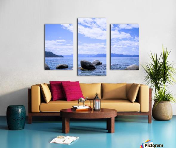 Perfect Day at the Lake - California Canvas print
