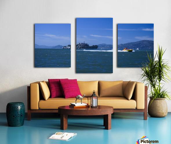 The Rock Alcatraz San Francisco Canvas print