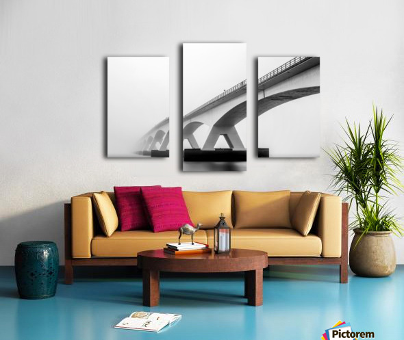 Shades of Grey Canvas print