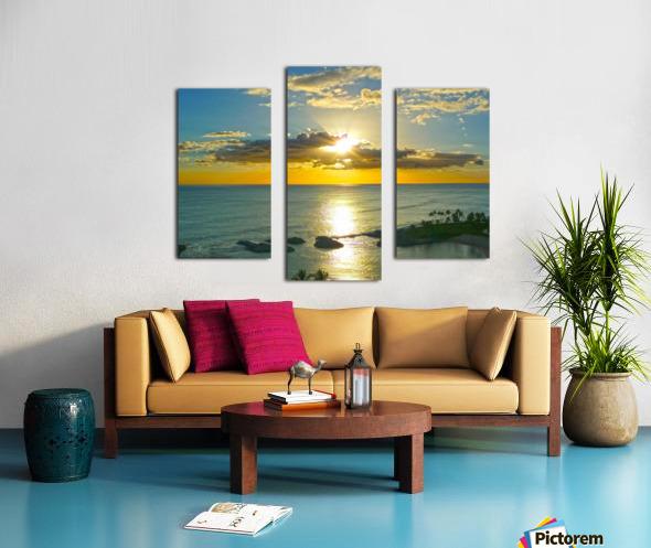 Island Dreamin - Hawaii Sunset Canvas print
