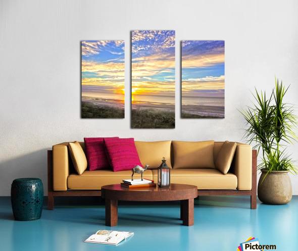 Carolina Sunrise Canvas print