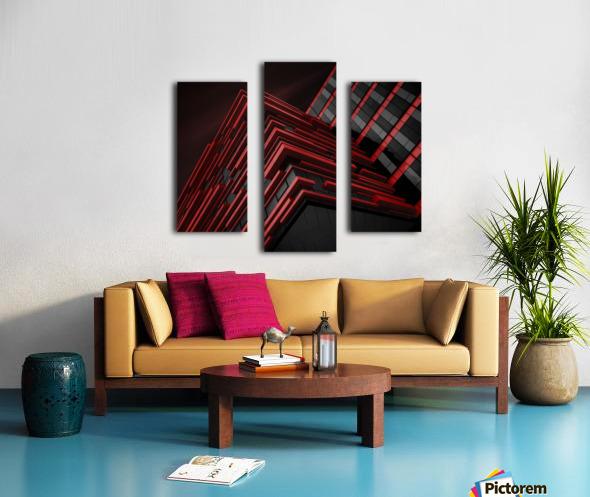 Blood Stream Canvas print
