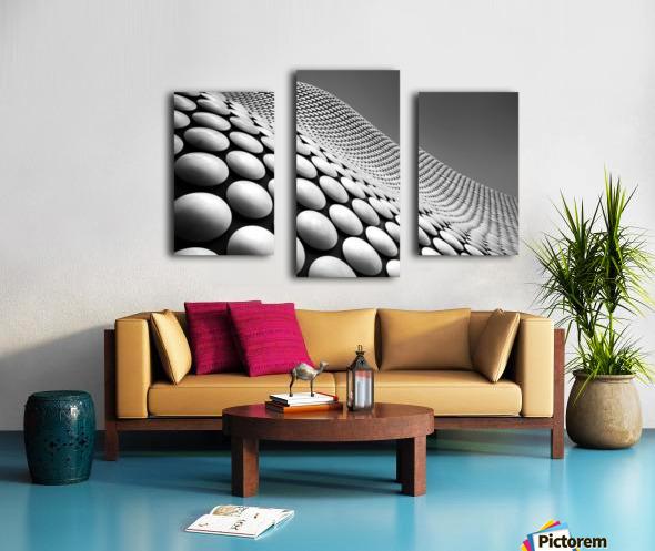 Curve Canvas print