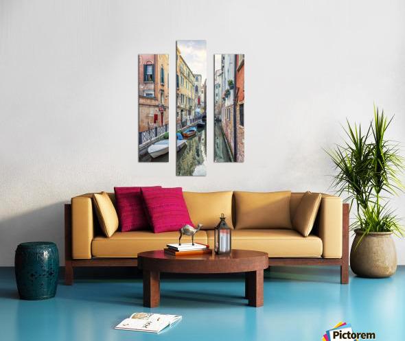Quiet Venice Canvas print