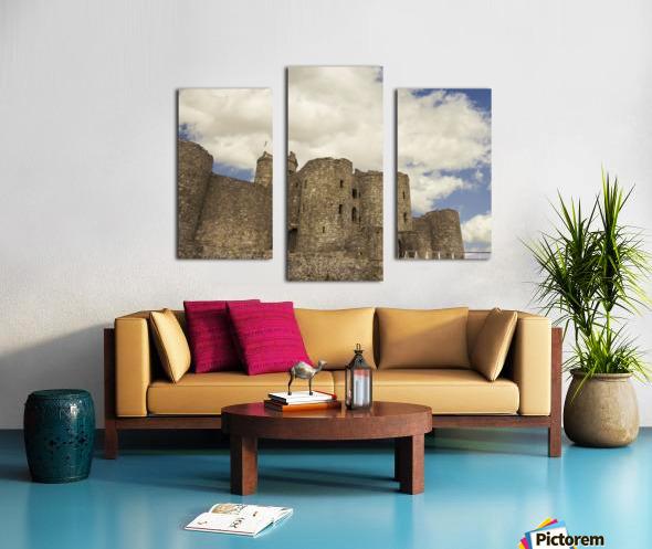 Aberystwyth Castle Canvas print