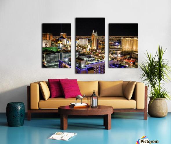 Las Vegas at Night Canvas print