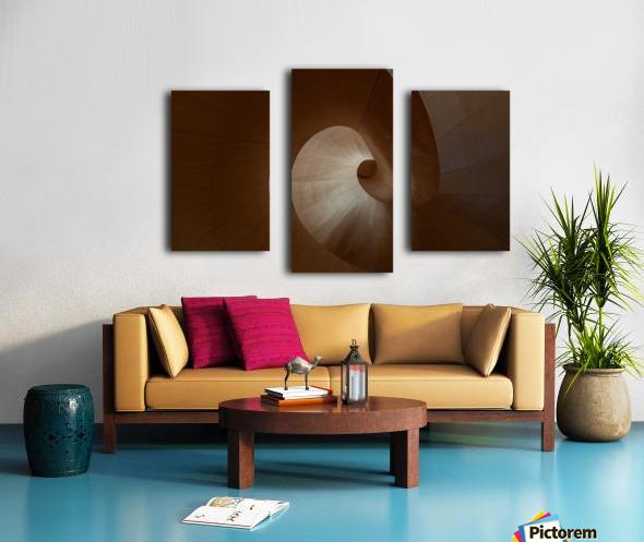Spiral by Heather Bonadio  Impression sur toile