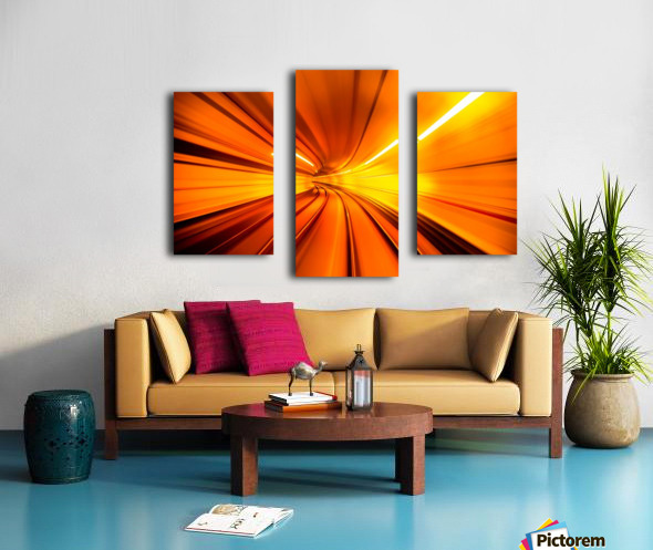 Wormhole Canvas print