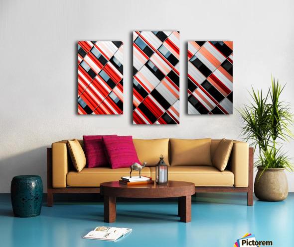Mo-zA Canvas print