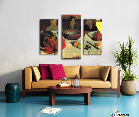 Still Life with Banana by Gauguin Canvas print