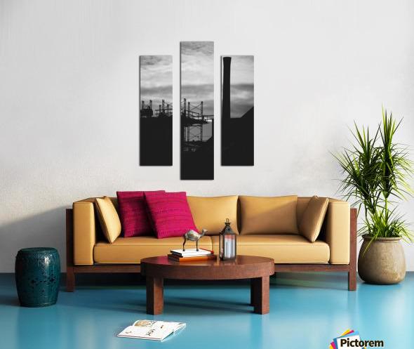 Smokestack Number Three Canvas print