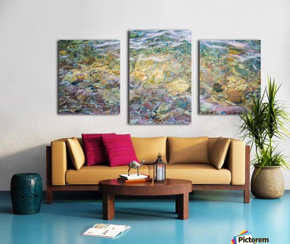 Water Colors ap 2562 Canvas print