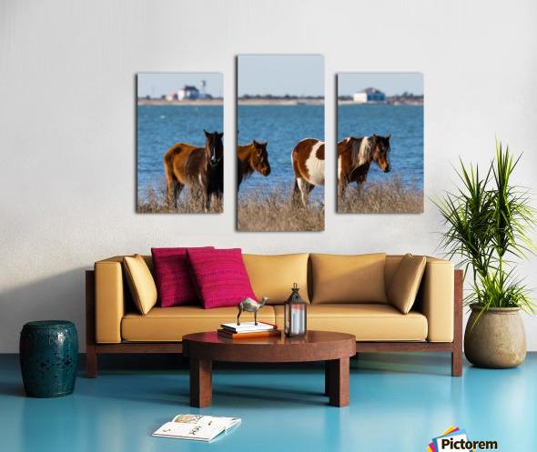 Wild Horses ap 2796 Canvas print
