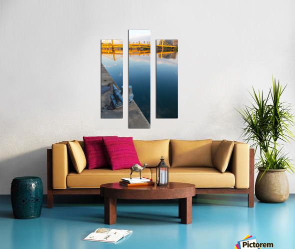 Barge Cleat ap 2877 Canvas print