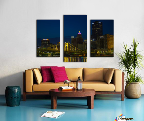 Roberto Clemente Bridge ap 2870 Canvas print