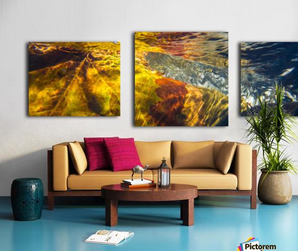 Leaves ap 2076 Canvas print