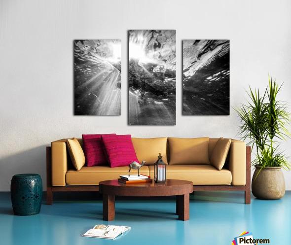 Sunlight ap 2048 B&W Canvas print