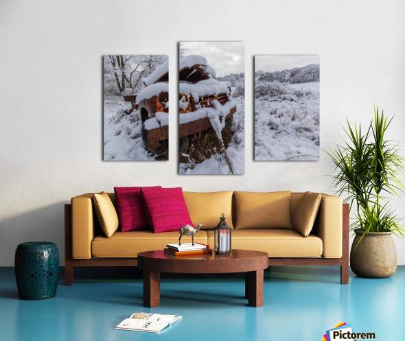 Forgotten ap 2857 Canvas print