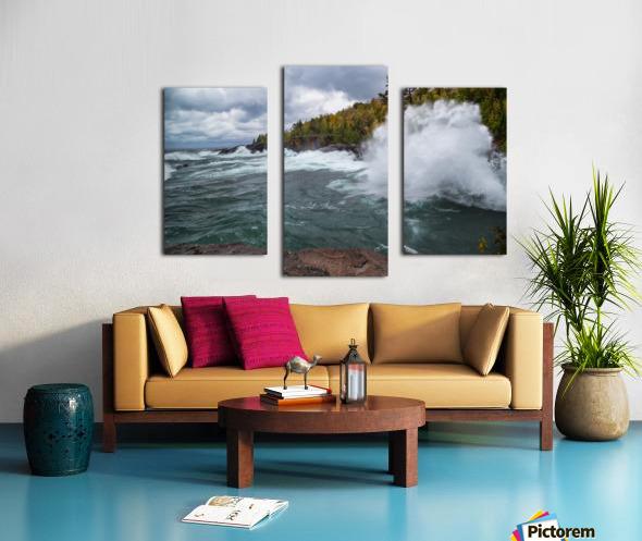 Splash 4 ap 2628 Canvas print