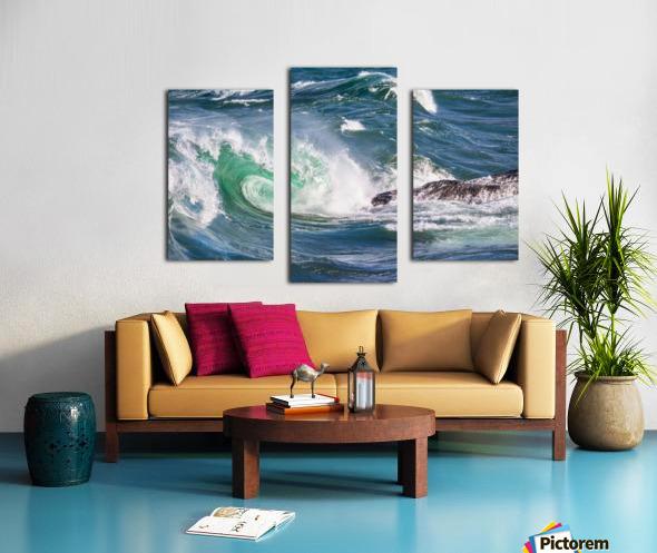 Wave Curl ap 2663 Canvas print