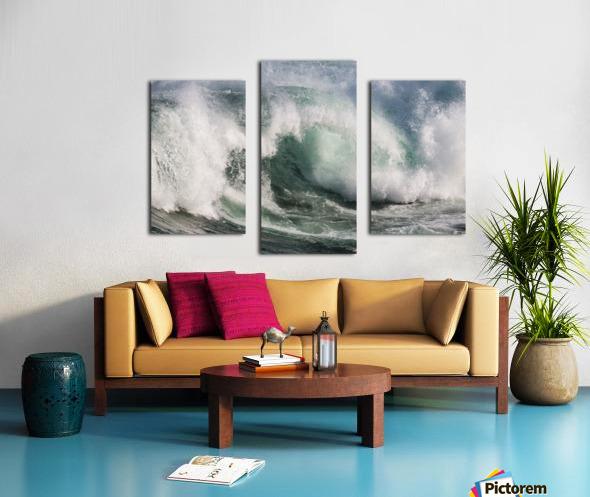 Wave Curl ap 2674 Canvas print