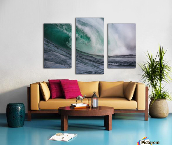 Wave Curl ap 2681 Canvas print