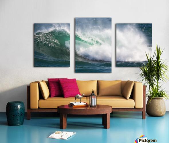 Wave Curl ap 2668 Canvas print