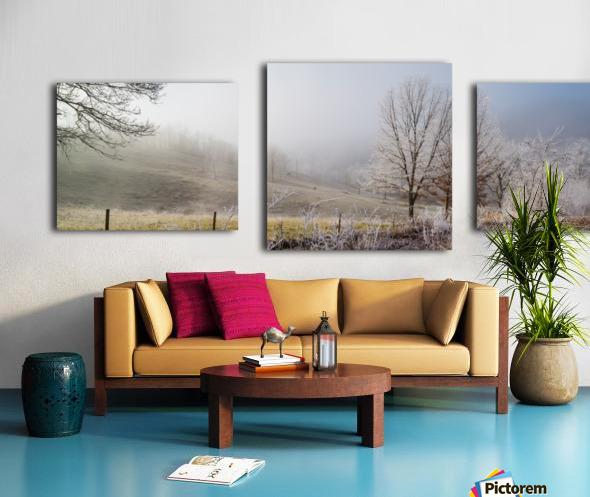 Pasture ap 2033 Canvas print