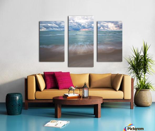 Sunset ap 2448 Canvas print