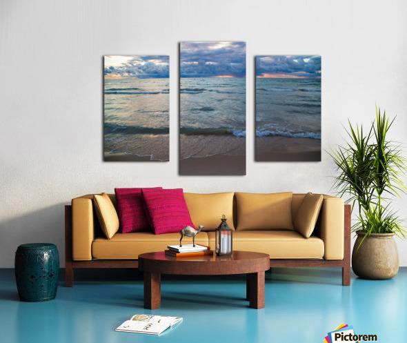 Sunset ap 2446 Canvas print