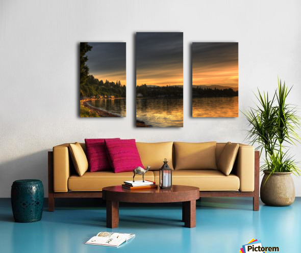 Before Sunset by Randy Hall Canvas print