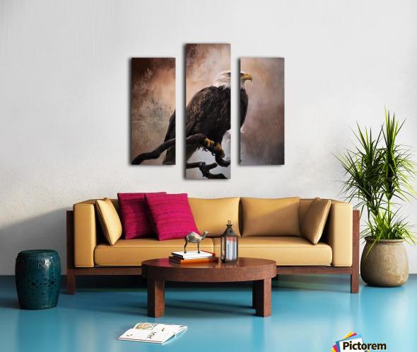 Looking Forward - Eagle Art by Jordan Blackstone Canvas print
