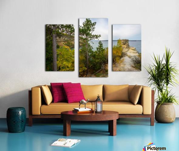 Miners Castle ap 2582 Canvas print