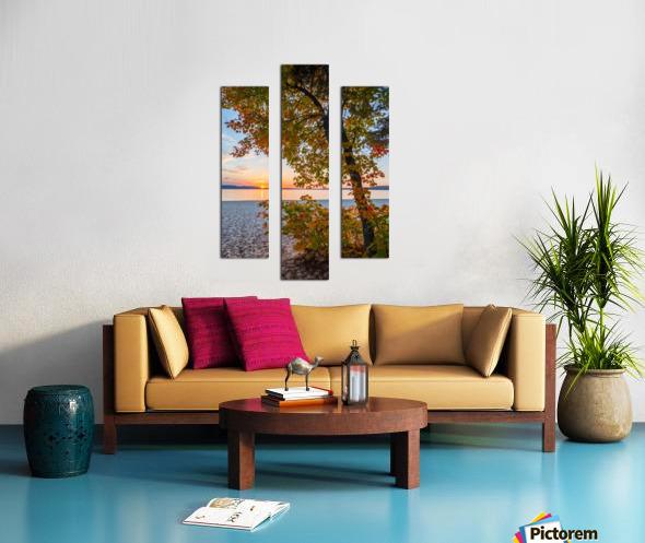 Sunset ap 2574 Canvas print