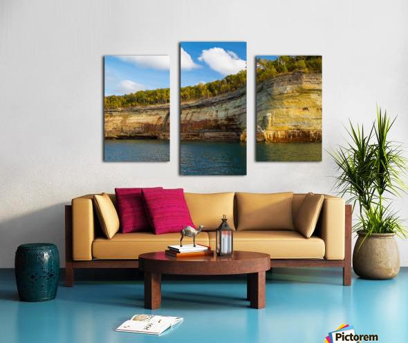 Water Colors ap 2492 Canvas print