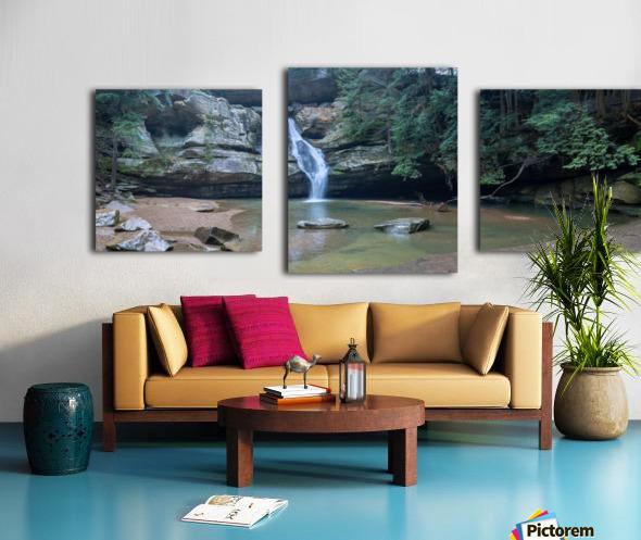 Cedar Falls apmi 1627 Canvas print