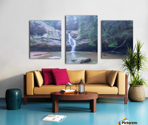 Cedar Falls apmi 1633 Canvas print