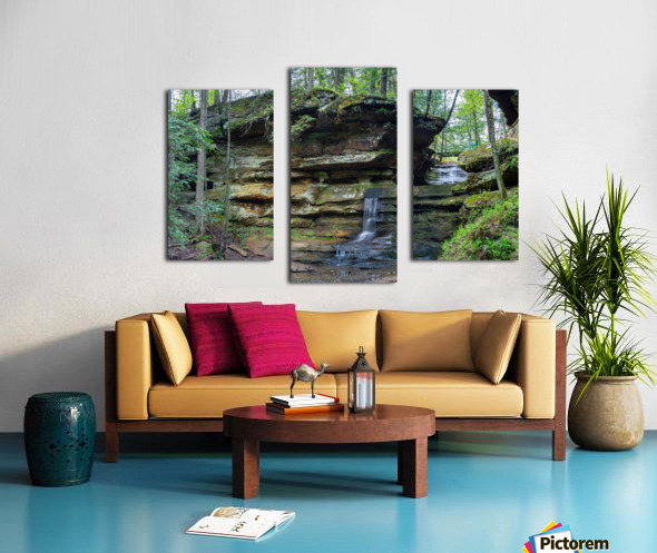 Lodge Falls apmi 1649 Canvas print