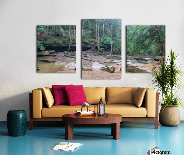 Near Cedar Falls apmi 1632 Canvas print