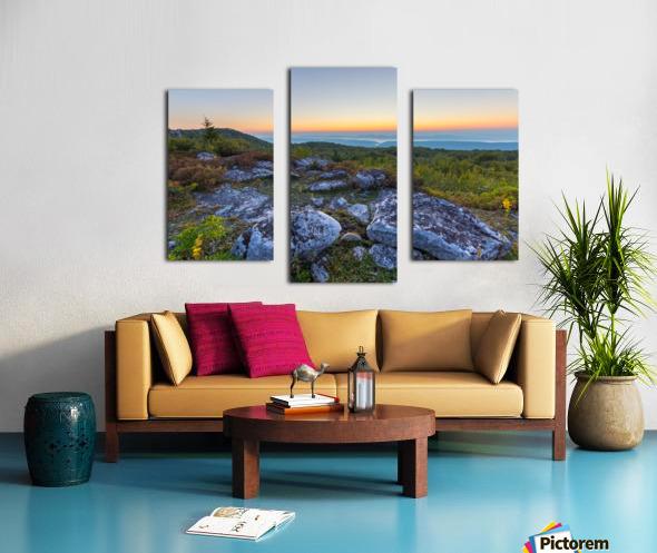 Sunrise ap 2896 Canvas print