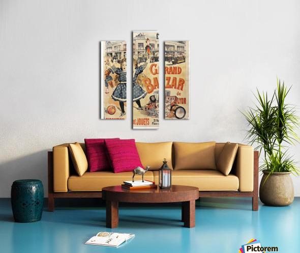 Grand Bazar Canvas print