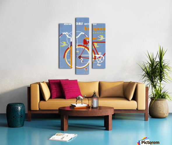 Bicycle Hidori Impression sur toile