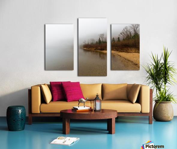 Profile Lake ap 2192 Canvas print